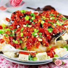 剁椒鱼头豆腐