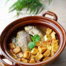 咖喱鲫鱼炖豆腐