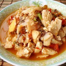 豆腐番茄鱼片