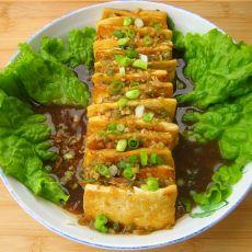 培根酿豆腐