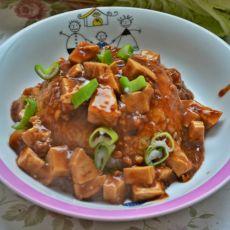 肉沫豆腐盖饭
