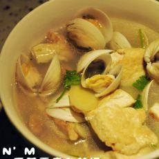 香煎豆腐白蛤汤