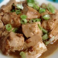 素烧麻婆豆腐的做法