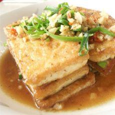 香煎孜然豆腐片