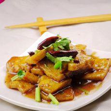 麻辣浇汁豆腐