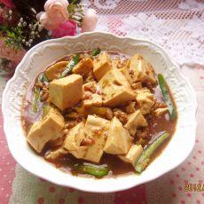 榨菜焖豆腐的做法