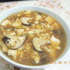 香菇豆腐鸡蛋羹