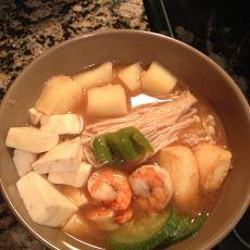 留学生韩式酱汤