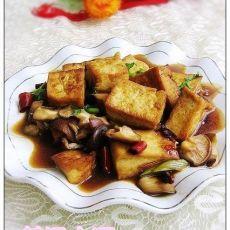 蚝油香菇豆腐