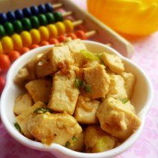 虾皮炒豆腐