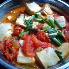 番茄煮豆腐