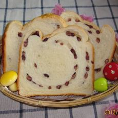 蜜红豆吐司―面包机版本