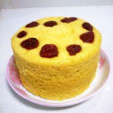 椰香玉米发糕
