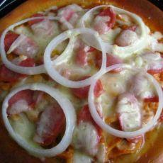新奥尔良鸡肉披萨