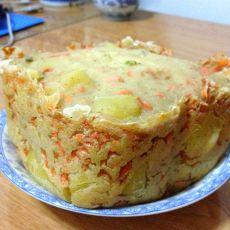 酸奶土豆胡萝卜面包