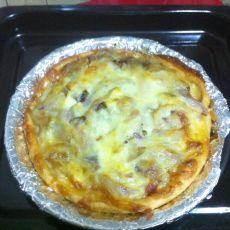 意式培根披萨