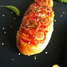 番茄芝士面包条