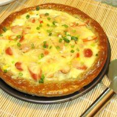 黑芝麻披萨