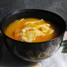 南瓜番茄面片汤