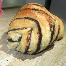 红豆沙花卷面包