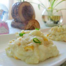 甜玉米粒牛奶土豆泥