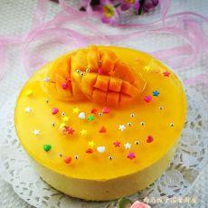 芒果奶酪慕斯蛋糕