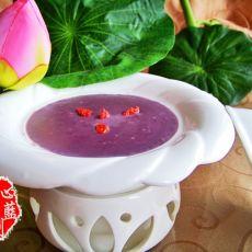 奶香紫薯泥