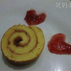 草莓蛋糕卷(电饼铛版)