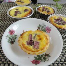 紫薯蛋挞――没有奶油做可以做美味蛋挞