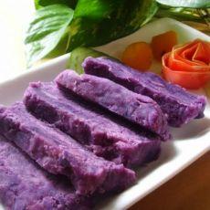 奶酪紫薯糕