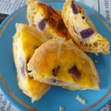 紫薯蛋挞的做法