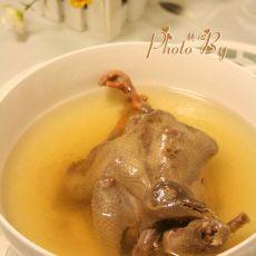 田七鸽子汤的做法