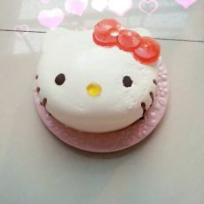 hello kitty酸奶慕斯蛋糕