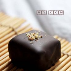 情人节手工黑巧克力糖果