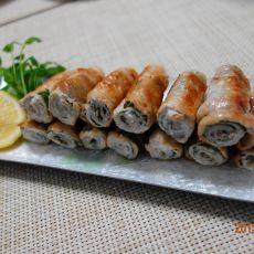 紫苏猪肉卷