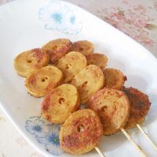 电饼铛香煎素鸡的做法