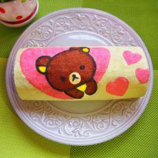 轻松熊蛋糕卷的做法