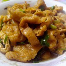 小炒油豆腐