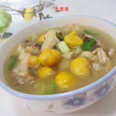 板粟鸡汤的做法