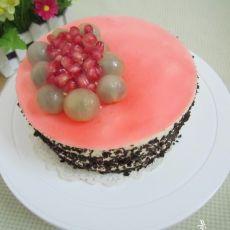 哈蜜瓜慕斯蛋糕