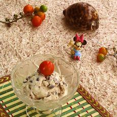 红豆蛋奶冰激凌