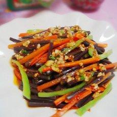 凉拌野生厥菜