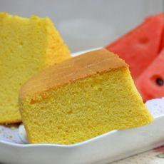 西瓜汁戚风蛋糕
