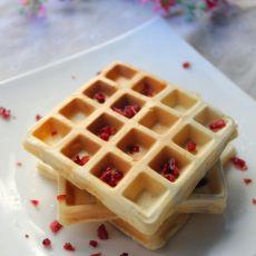 蔓越莓华夫饼