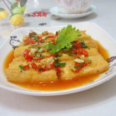 葱香脆皮豆腐