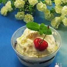 酸奶柚子酱冰淇淋