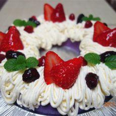 紫薯布丁蛋糕