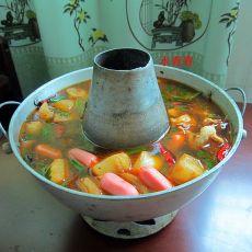 麻辣排骨萝卜锅