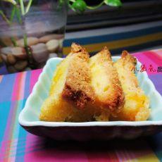 酥芒果蛋糕