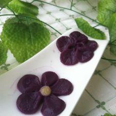 香糯紫薯糕
